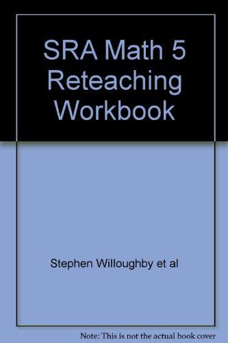 9780026746182: SRA Math 5 Reteaching Workbook