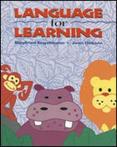 9780026746427: Language for Learning Teacher's Presentation Book A