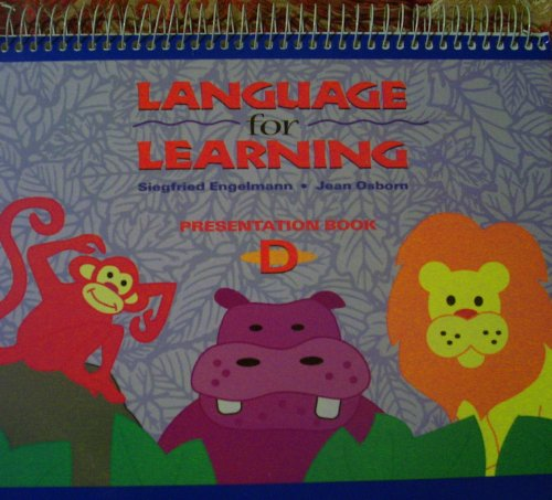 9780026746458: Language for Learning - Presentation Book D