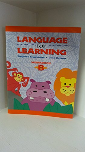 9780026746472: Work Book: Wkbk B Language for Learn
