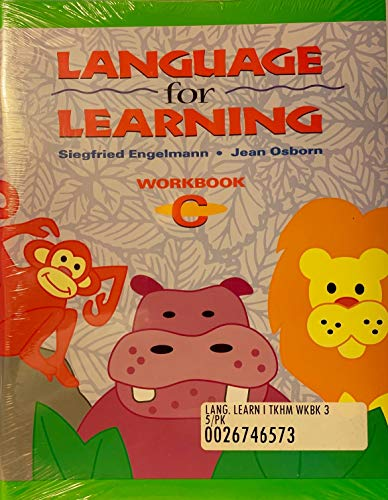 9780026746489: Language for Learning Workbook C