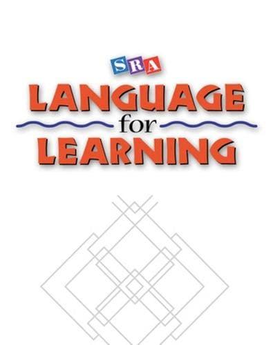 9780026746519: Language for Learning I - Behavioral Objectives Booklet