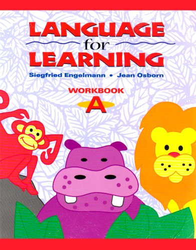 9780026746557: Language for Learning - Workbook A (Distar Language Series)