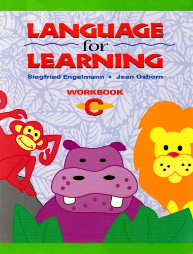 9780026746571: Language for Learning - Workbook C (package of 5)