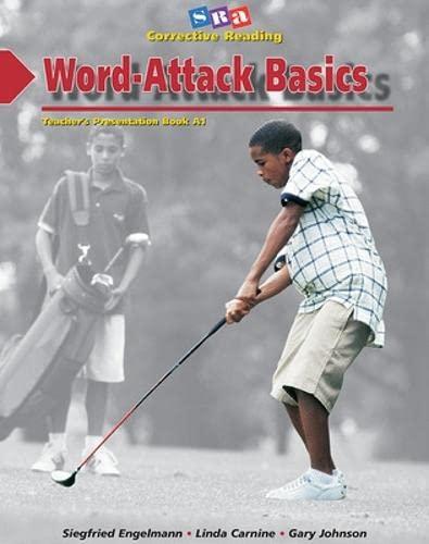 9780026747691: Word-Attack Basics: Teacher's Presentation Book 1, Decoding A
