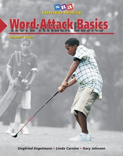 9780026747721: Word - attack basics. Teachers guide. Decoding A. SRA corrective reading.