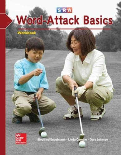 9780026747738: Corrective Reading: Word Attack Basics Workbook
