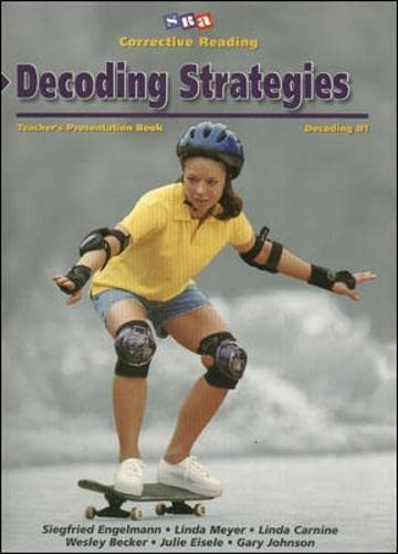 9780026747769: Decoding Strategies: Decoding B1- Teacher's Presentation Book (Corrective Reading) (CORRECTIVE READING DECODING SERIES)