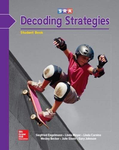 SRA Decoding Strategies (Decoding B1 Student Book): Siegfried Engelmann, Linda