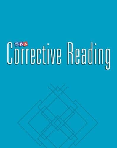 9780026747837: Corrective Reading Decoding: Enrichment Blackline Masters - Level B1