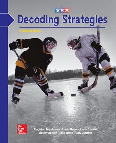 9780026747868: SRA Decoding Strategies (Decoding B2) (Student Book)