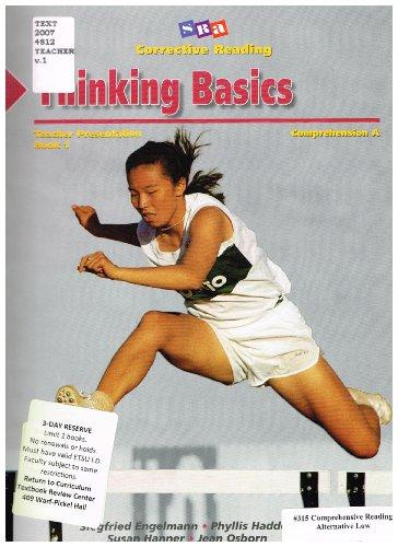9780026747974: Thinking Basics Teacher Presentation (Comprehension A)