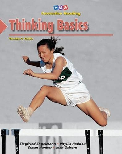 Stock image for Corrective Reading Comprehension, Level A: Thinking Basics- Teachers Guide for sale by APlus Textbooks