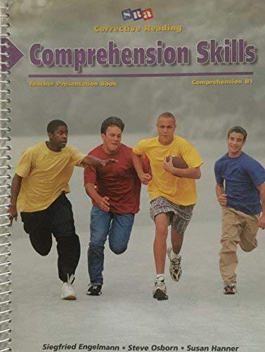 9780026748049: Comprehension Skills: Teacher Presentation Book, Comprehension B1