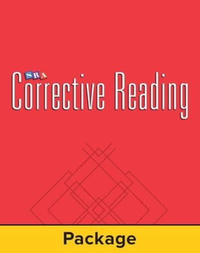 9780026748070: Corrective Reading Comprehension: Mastery Test Package (for 15 Students) - Level B1: Mastery Test Package B1
