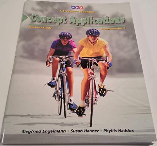9780026748155: SRA Corrective Reading: Concept Applications. Teacher Presentarion Book 1, Comprehension C.