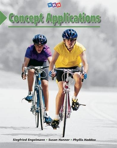 9780026748186: SRA Corrective Reading Concept Applications Comprehensive C Student Book
