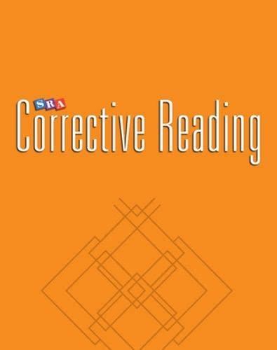 9780026748247: Corrective Reading Decoding Level A, Teacher Material (Corrective Reading Decoding Series)