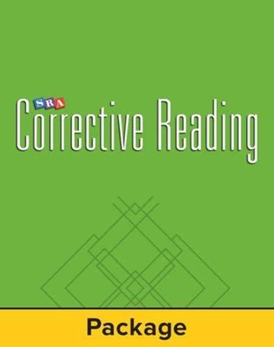 9780026748292: Corrective Reading Decoding Level C, Student Workbook (pack of 5) (CORRECTIVE READING DECODING SERIES)