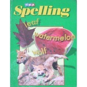 9780026749268: SRA Spelling Level 4