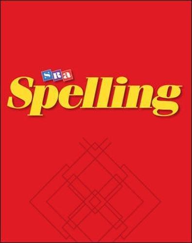 9780026749312: SRA Spelling: Cardinal Edition - Grade 4