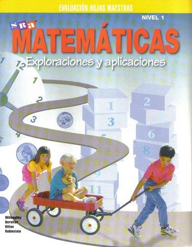 9780026750431: Matematicas Exploraciones Y Aplicaciones Nivel 1 Evaluacion Hojas Maestras