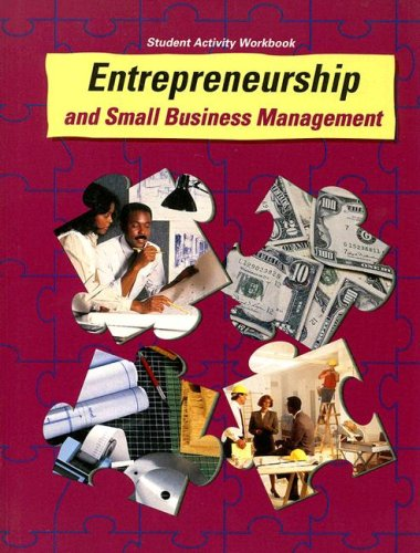 9780026751223: Entrepreneurship and Small Business Management Student Activity Workbook