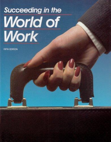 Succeeding in the World of Work: Kimbrell, Grady, Vineyard,