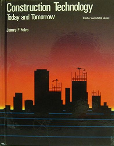 9780026757584: Construction technology: Today and tomorrow