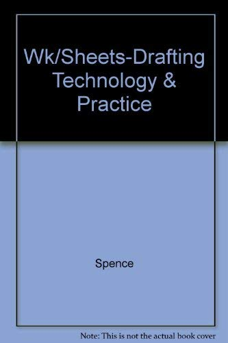 9780026763103: Worksheets-Drafting Technology & Practice