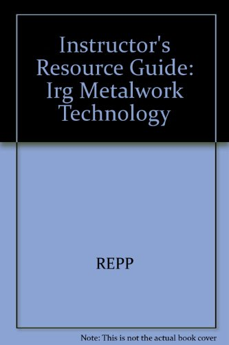9780026764858: Metalwork: Technology and Practice