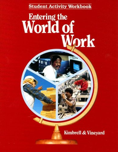 9780026767408: Entering the World of Work (Student Activity Workbook)