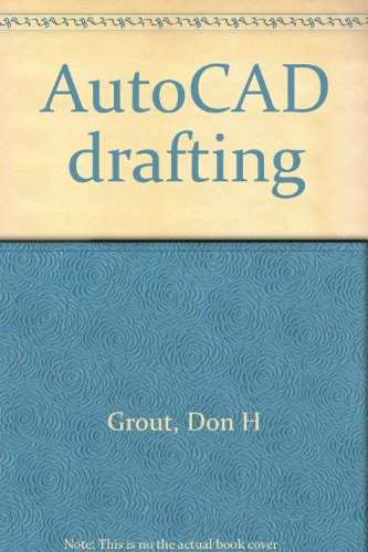 9780026771368: AutoCAD drafting