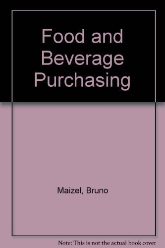 9780026786607: Food and Beverage Purchasing