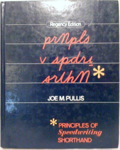 9780026798105: Principles of Speedwriting Shorthand