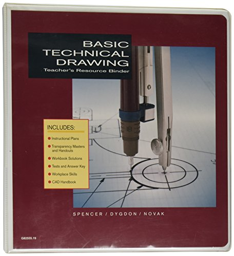 9780026825559: Basic Technical Drawing : Teacher's Resource Binder