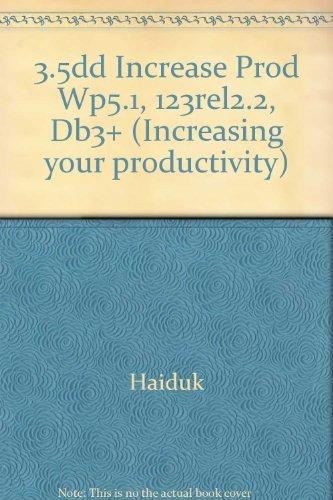 9780026830812: Title: 35dd Increase Prod Wp51 123rel22 Db3 Increasing yo
