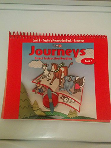 9780026834988: Journeys: Direct Instruction Reading Teacher's Presentation Book-Language, Level K Book 2
