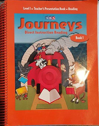 9780026835121: SRA Journeys Direct Instruction Reading Book 1. Level 1 - Teacher's Presentation Book - Reading