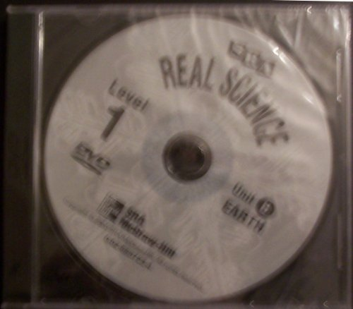 9780026837231: SRA Real Science, Unit B Earth, Level 1 DVD