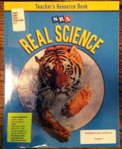 9780026837965: SRA Real Science: Teacher Resource Book, Grade 3