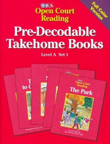 9780026839266: Pre-Decodable Takehome Books: Level A, Set 1 (Open Court Reading)