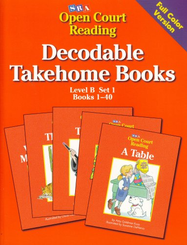 Open Court Reading Decodable Takehome Books: Level: N, A