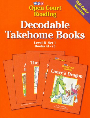 9780026839280: Open Court Decodable Books Take Home: Level B, Set 1, Book 2 (Open Court Reading)