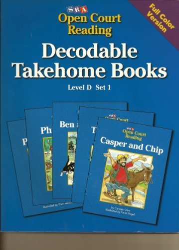 9780026839310: SRA Open Court Reading / Decodable Takehome Books/ Full Color Version / Level D Set 1
