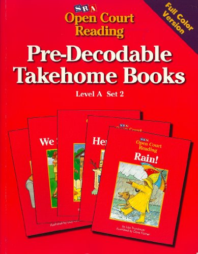 9780026839327: Pre-Decodable Takehome Books (SRA Open Court Reading, Level A, Set 2)