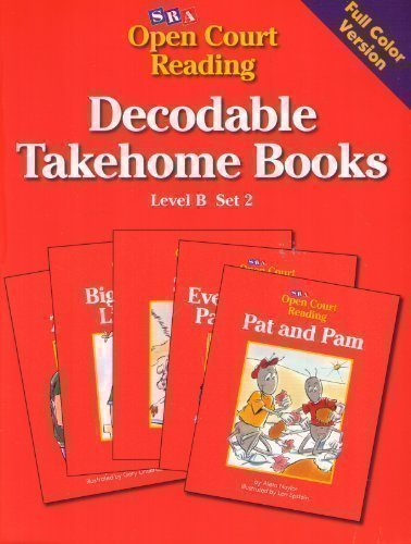 Open Court Reading Decodable Takehome Books Level