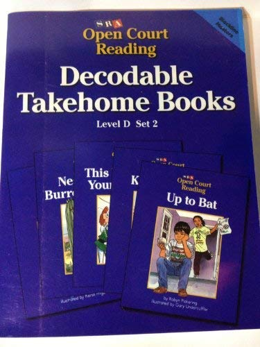 9780026839358: SRA Open Court Reading Decodable Takehome Books Level D Set 2