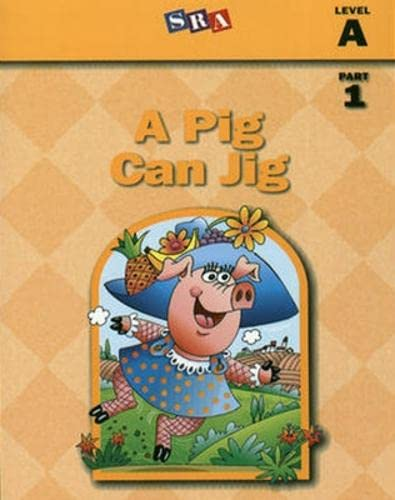 9780026839976: Basic Reading Series, A Pig Can Jig, Part 1, Level A