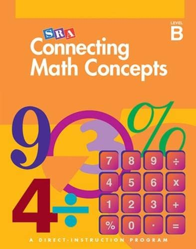 9780026844642: Connecting Math Concepts, 2003 Edition, Level B Presentation Book 1 (Direct Instruction)